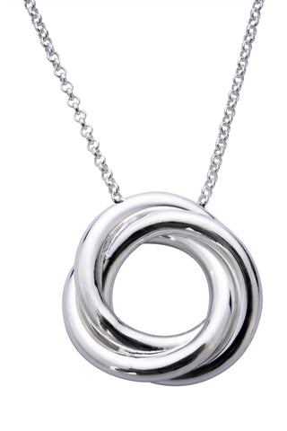 CW Sellors Necklace Russian Ring Medium Silver
