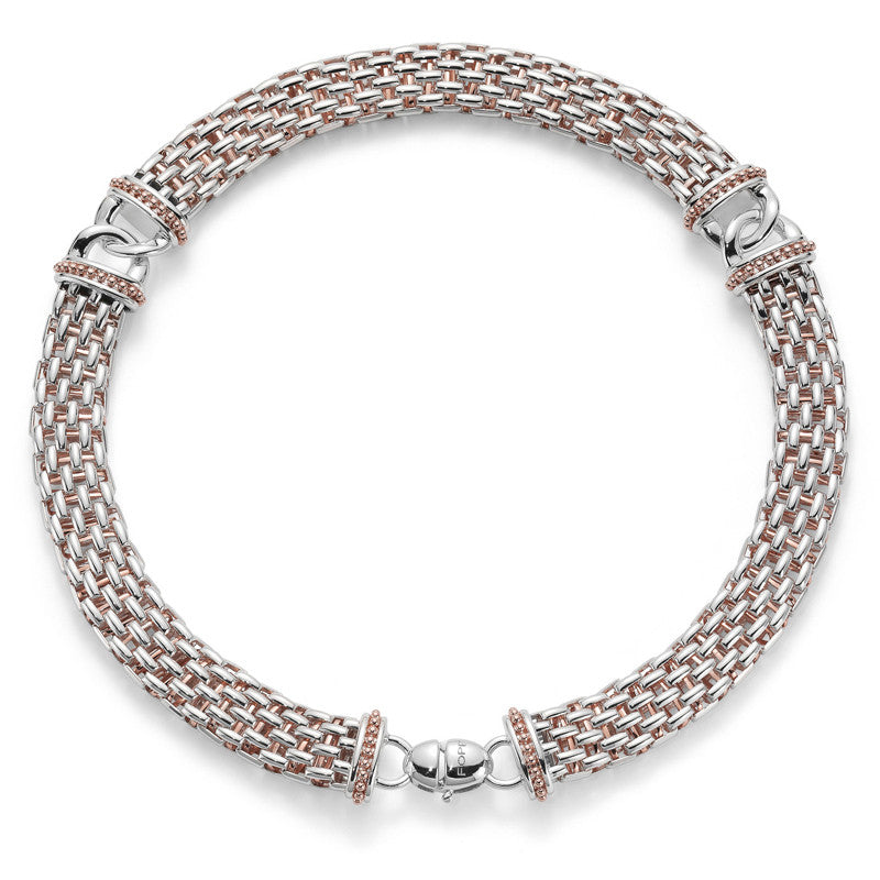 Fope Necklace Rope Silver