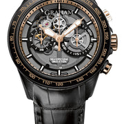 Graham Watch Silverstone RS Skeleton Black & Gold Limited Edition 2STAZ.B02A.C160H