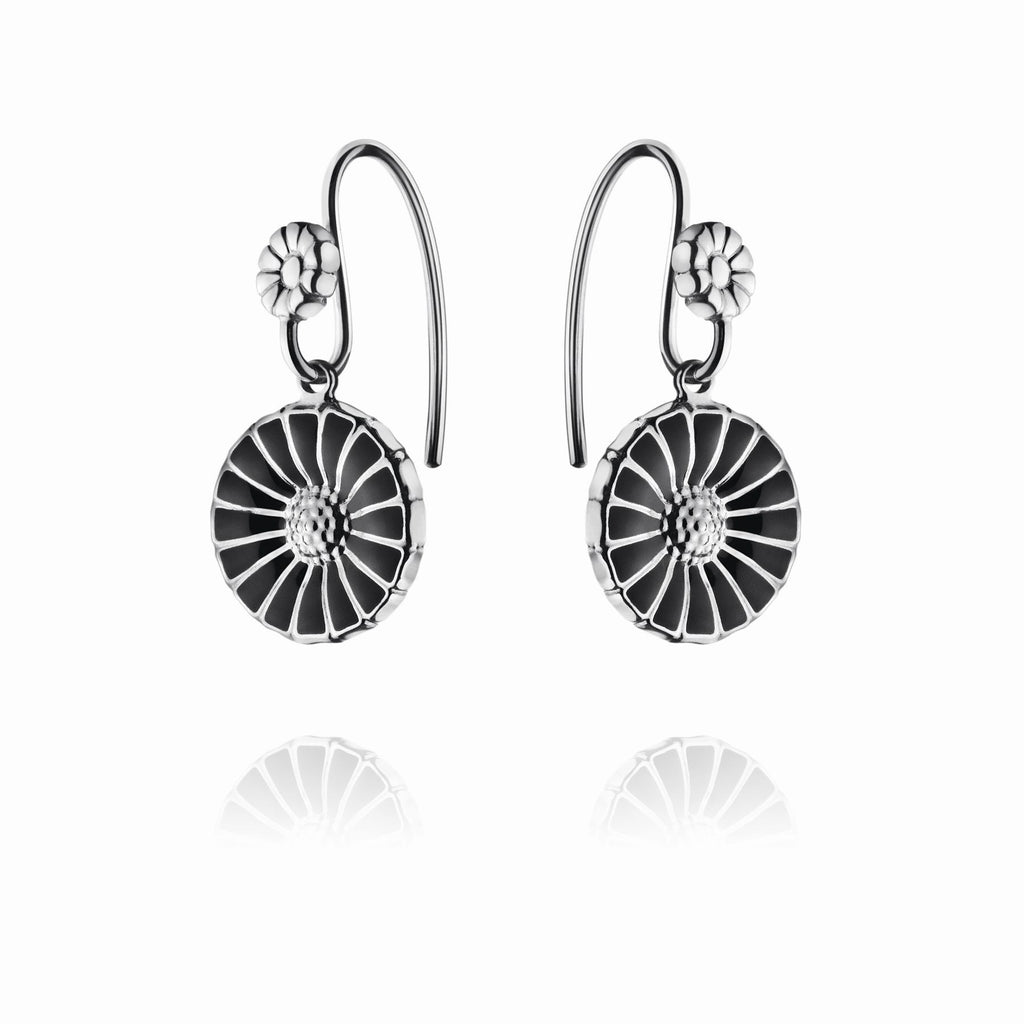 Georg Jensen Earrings Daisy Hook