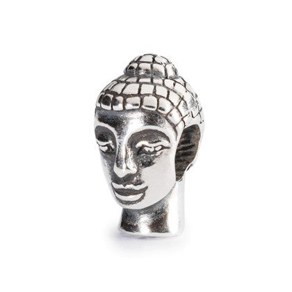 Trollbeads Bead Silver Head Of The Budda