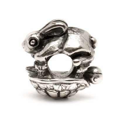 Trollbeads Bead The Hare And The Tortoise Silver