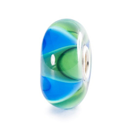 Trollbeads Bead Mist Ripples Glass