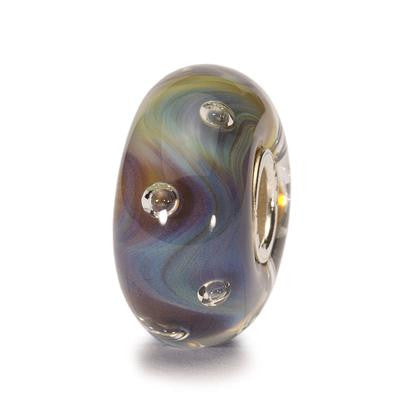 Trollbeads Bead Glass Azure Bubbles