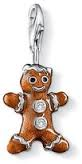Thomas Sabo Charm Club Sterling Silver Gingerbread Man Charm D