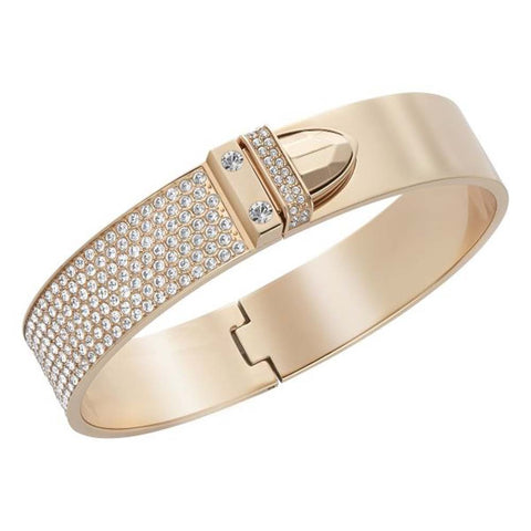 Swarovski Bangle Distinct Rose Gold Plated Medium