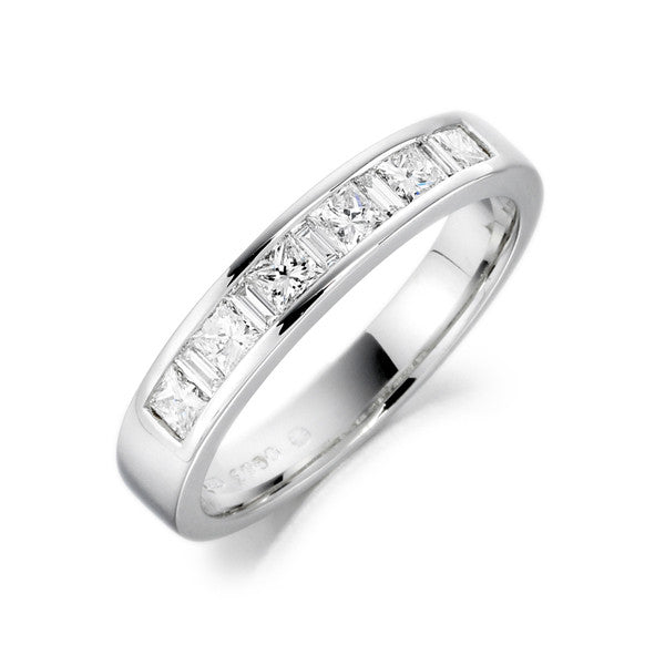 Charles Green Half Eternity Diamond Set Ring 53E45