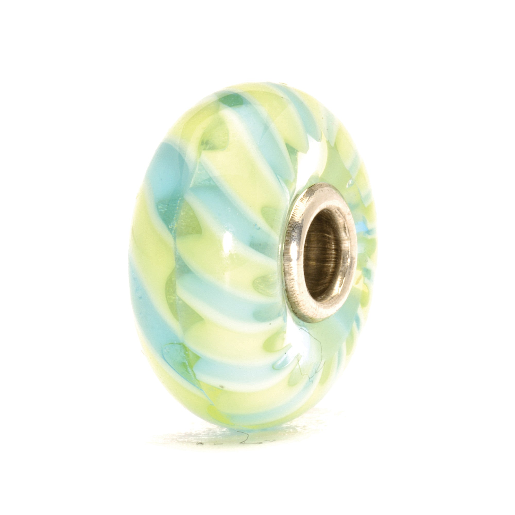 Trollbeads Bead Light Blue Braid D