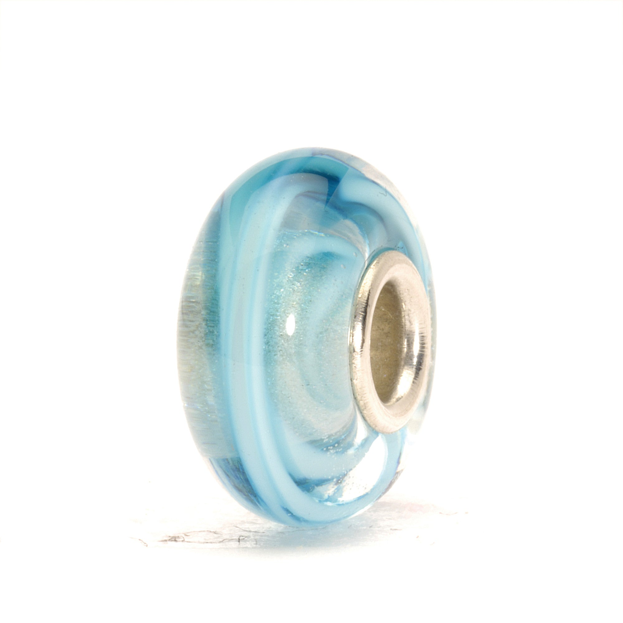 Trollbeads Bead Turquoise Ribbon
