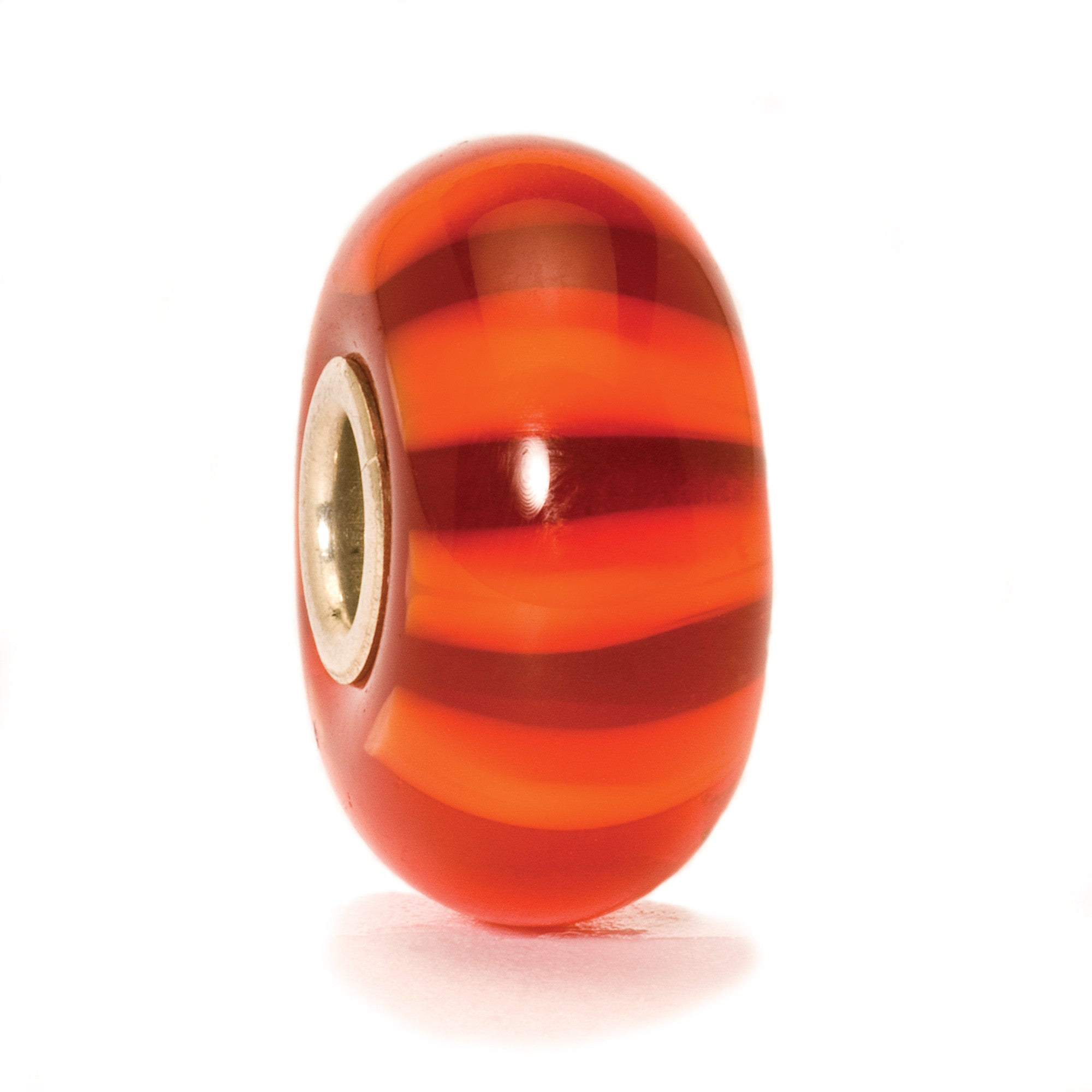 Trollbeads Bead Red Stripe