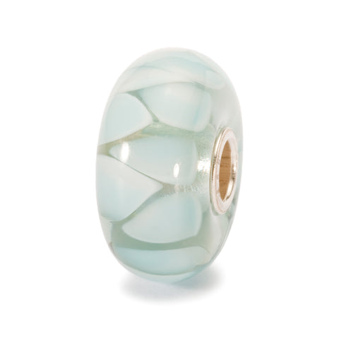 Trollbeads Bead Light Blue Shadow  D
