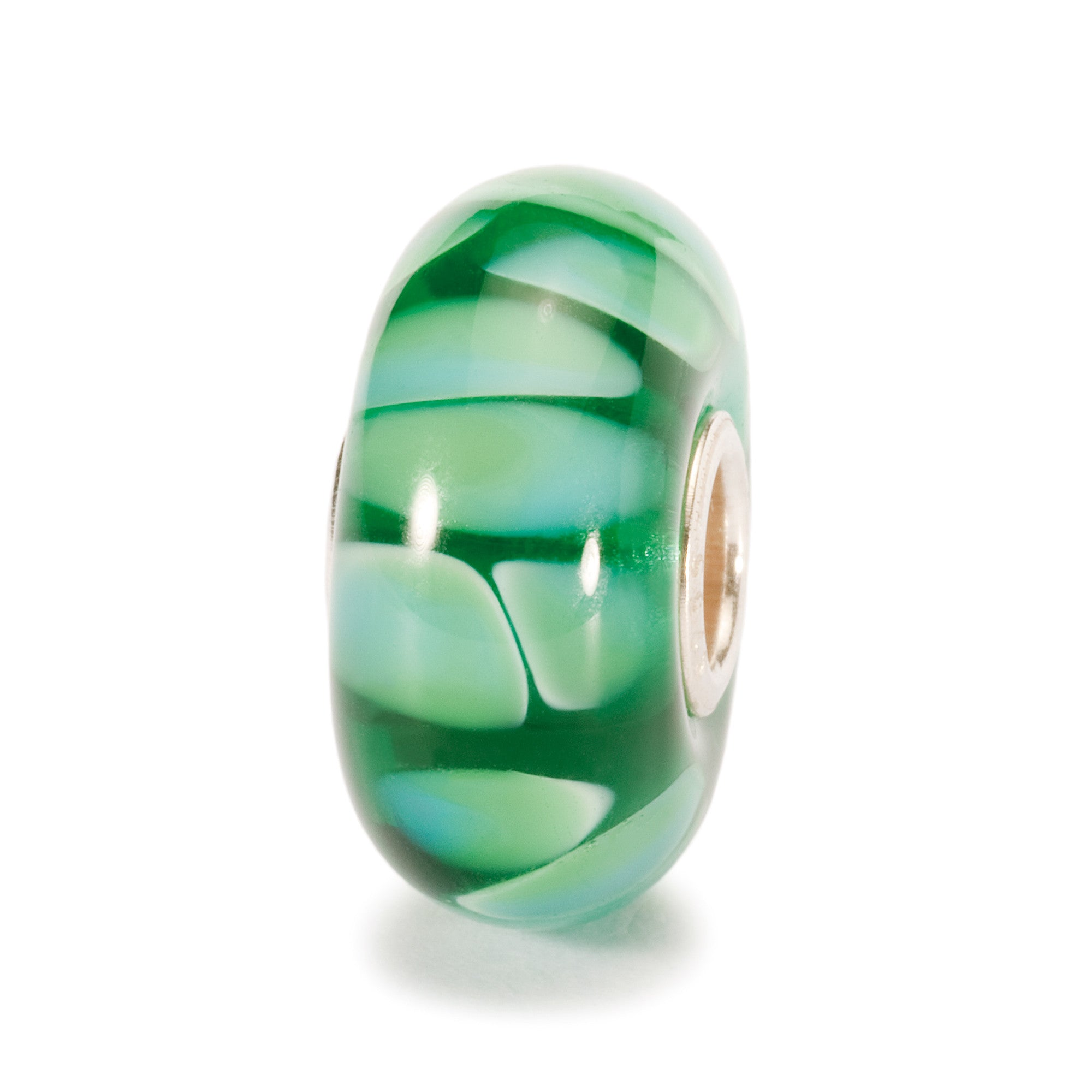 Trollbeads Bead Green Shadow  D