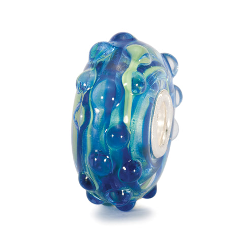 Trollbeads Bead Whitecap Bobble Blue