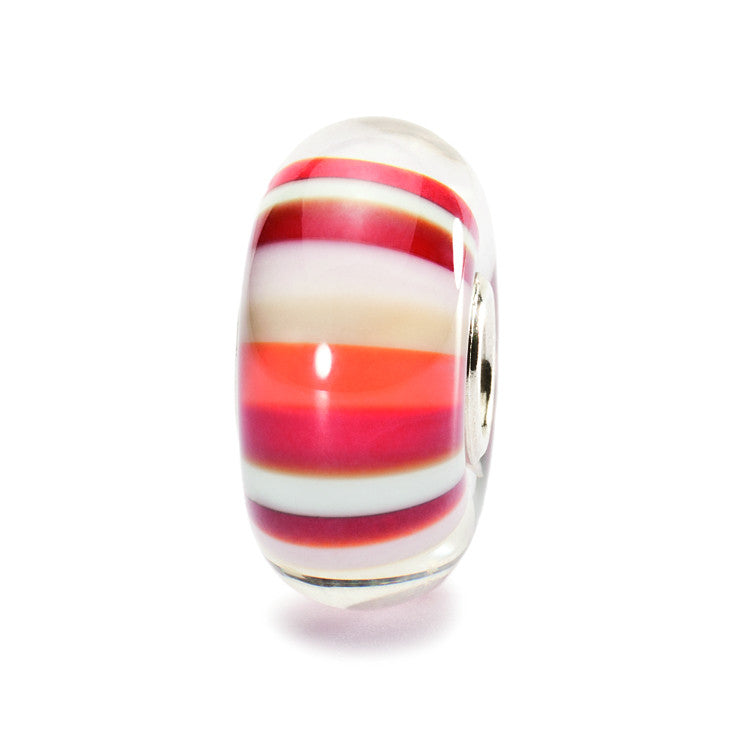 Trollbeads Bead Strawberry Stripes