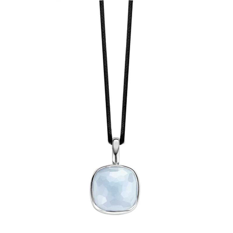 Ti Sento Necklace Light Blue