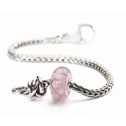 Trollbeads Bracelet Luck & Joy Soft Pink