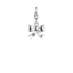 Ti Sento Sterling Silver Fun Ribbon Charm D