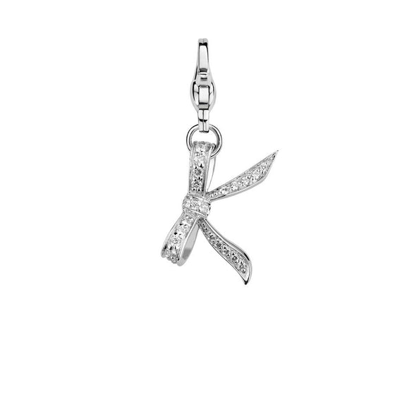 Ti Sento Charm Charming Butterfly Kisses 8122ZI
