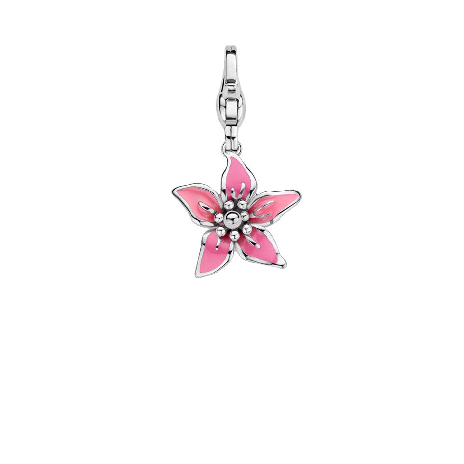 Ti Sento Charm Charming Tropical Bloom