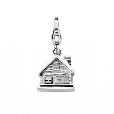Ti Sento Charm Mountain Cottage Silver