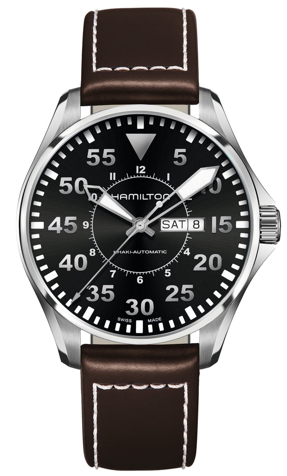 Hamilton Watch Khaki Aviation Pilot 46mm Auto H64715535