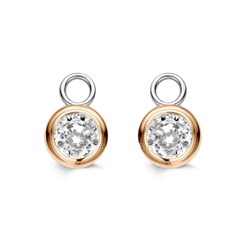 Ti Sento Earrings Charm