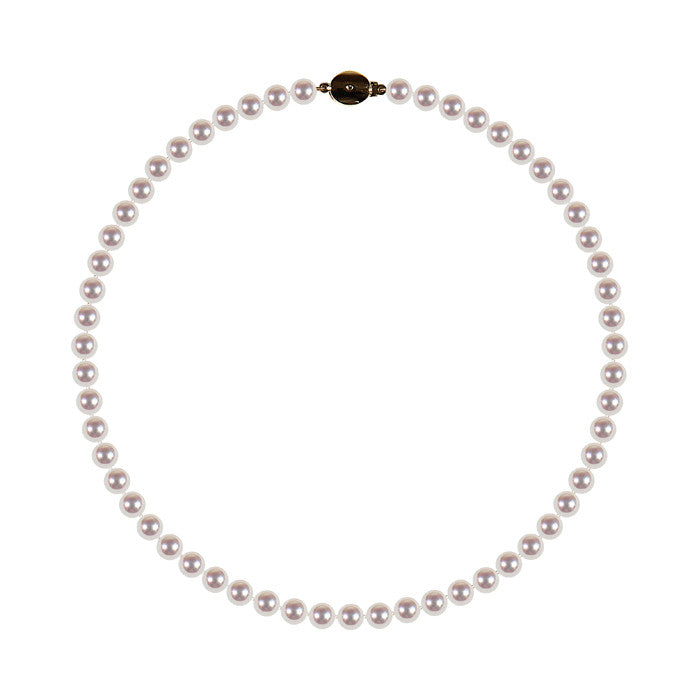 Yoko Pearls Necklace White Pearl