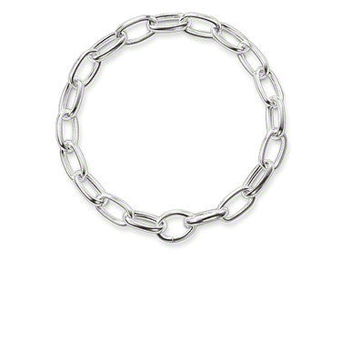 Thomas Sabo Bracelet Sterling Silver Single Click Link 20.5cm