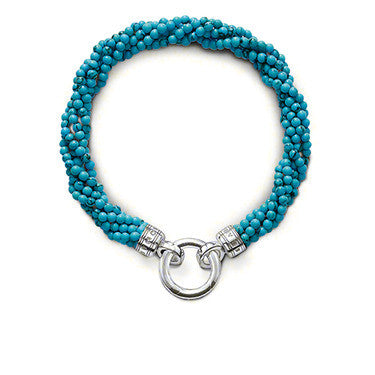 Thomas Sabo Bracelet Special Addition Silver & Turquoise Twist D