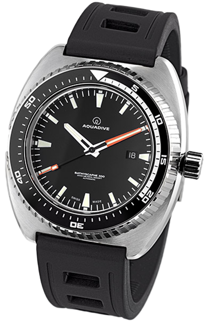 Aquadive Watch Bathyscaphe 300 1300001NW
