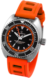 Aquadive Watch Bathysphere 100 GMT Orange BS100GMTORNGE