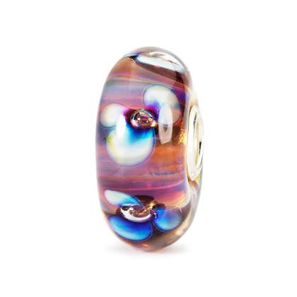 Trollbeads Bead Glass Aurora Flower