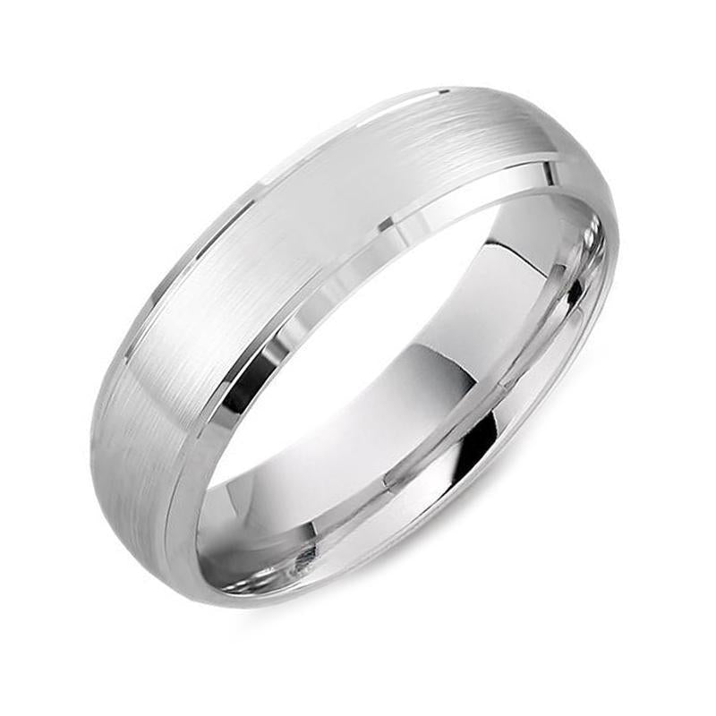 Brown & Newirth Palladium Gents 5mm Wedding Ring