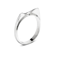 Cat Fever Sterling Silver Cat Ears Ring