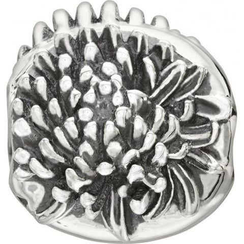 Chamilia Sterling Silver Chrysanthemum November Charm D