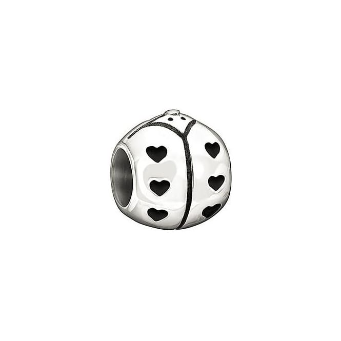 Chamilia Sterling Silver Lady Bug Charm D