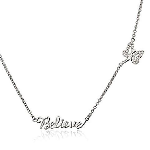 Chamilia Sterling Silver Swarovski Crystal Believe Necklace D