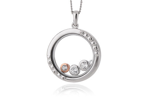 Clogau Celebration Inner Charm Silver Pendant