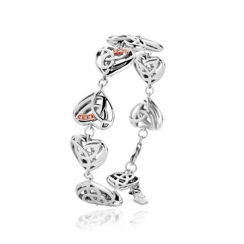 Clogau Eternal Love Sterling Silver Diamond Bracelet