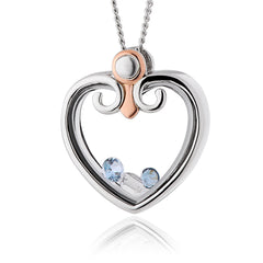 Clogau Princess Inner Charm Sterling Silver Pendant