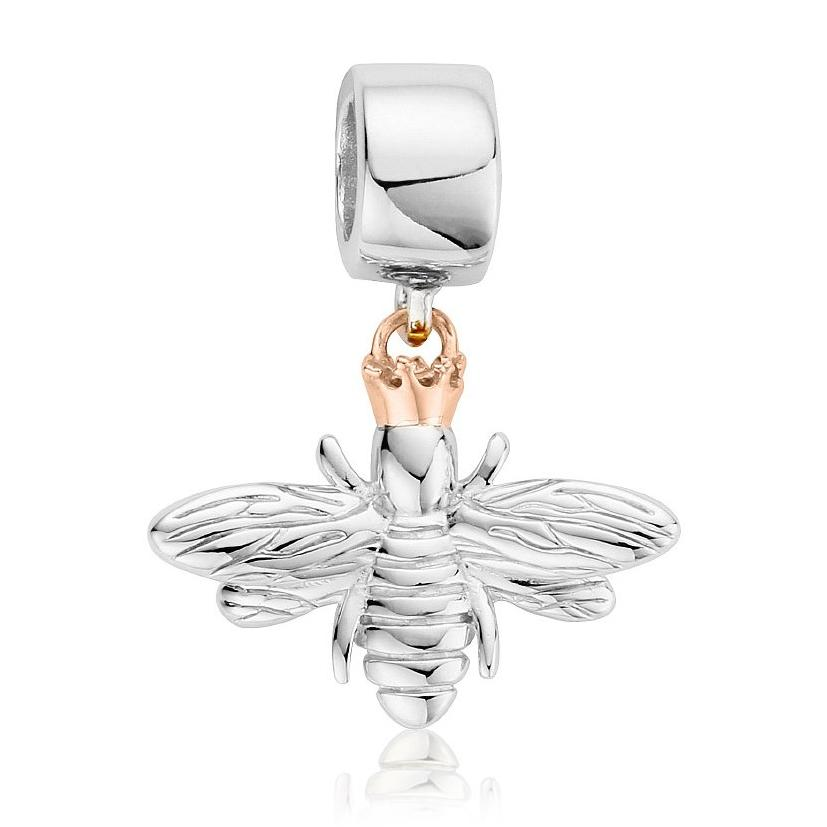Clogau Queen Bee Sterling Silver Bead Charm