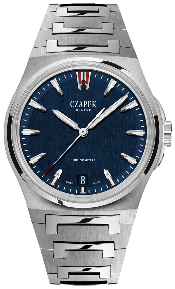 Czapek Watch Antarctique Terre Adelie Deep Blue Red Tip Limited Edition Deep Blue Red Tip