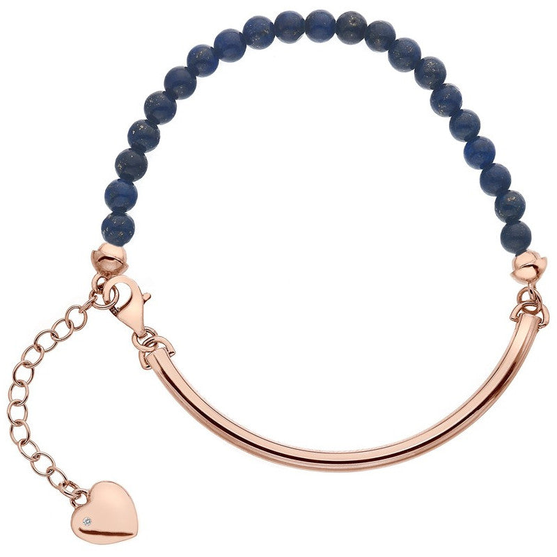 Hot Diamonds Festival Bracelet Lapis Silver