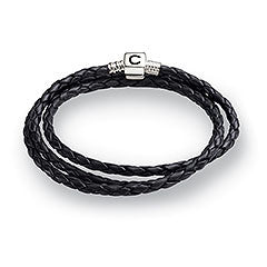 Chamilia Bracelet Ebony Braided Large