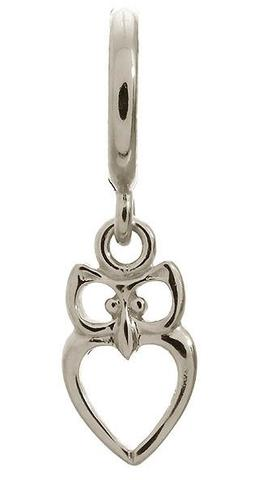 Endless Jewellery Sterling Silver Owl Drop Charm D