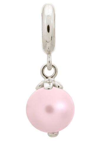 Endless Jewellery Sterling Silver Rose Pink Pearl Charm D