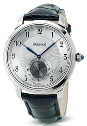 Faberge Agathon Small Seconds White Gold and White Dial 115WA215/1