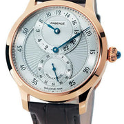 Faberge Agathon Regulateur Rose Gold and White Dial Limited Edition 118WA212/3