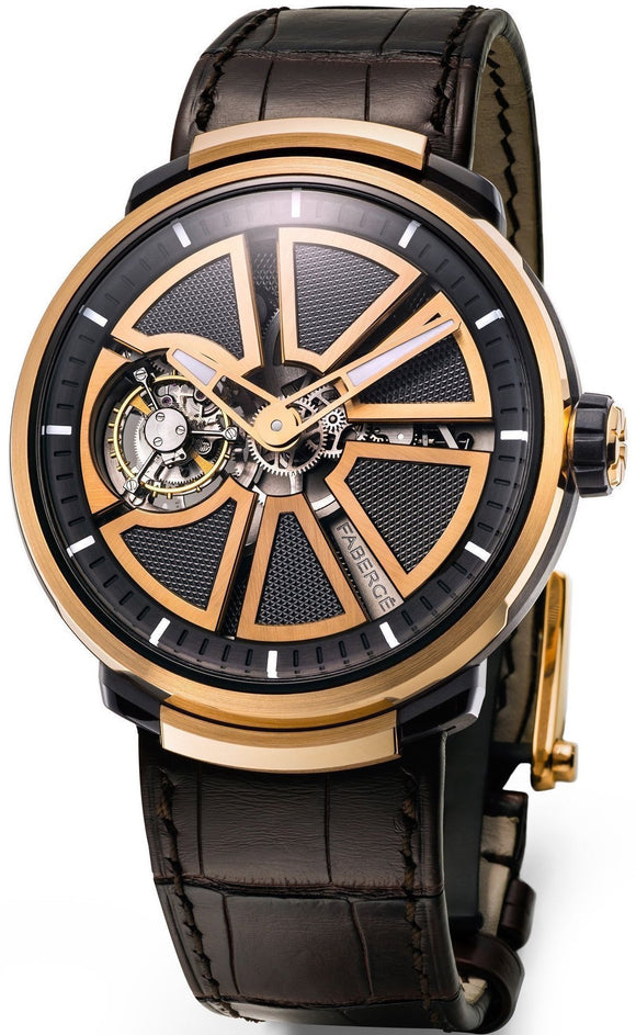 Faberge Watch Visionnaire 1 Rose Gold 796WA1540