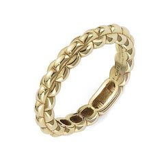 Fope Eka Tiny 18ct Yellow Gold Ring